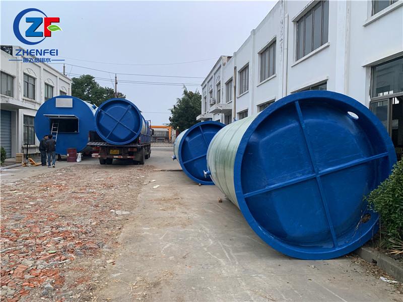 一体化预制泵站 雨水一体化提升泵站销售