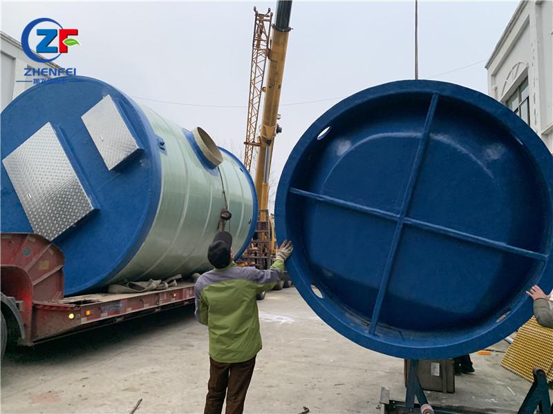 一體化泵站 玻璃鋼一體化供水泵站安裝