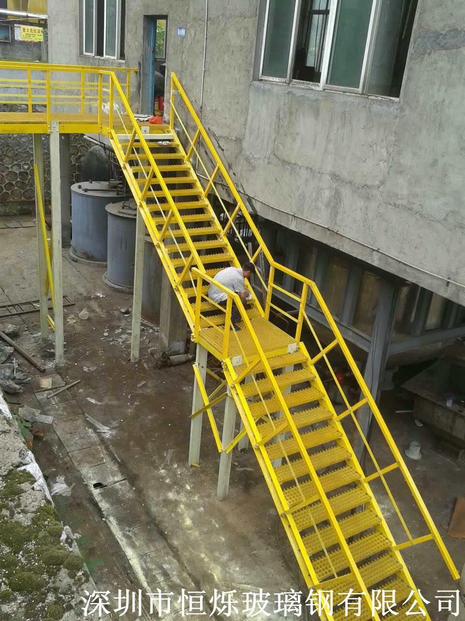 玻璃钢围栏 石家庄玻璃钢型材护栏安装方便