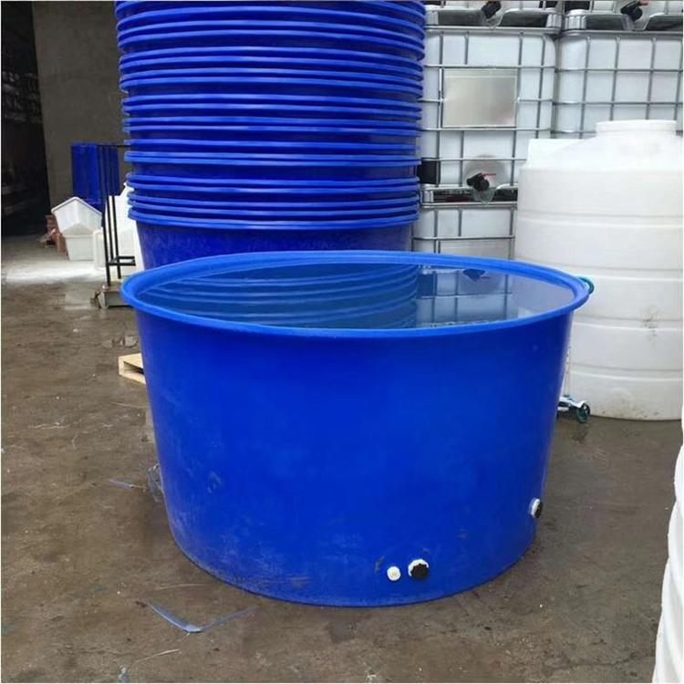 水产运输桶 育苗养殖桶耐用养殖家用带盖塑料圆桶