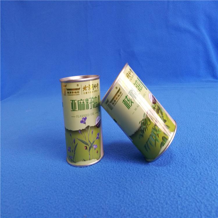 铁盒生产厂家 南通橄榄油礼品大铁盒