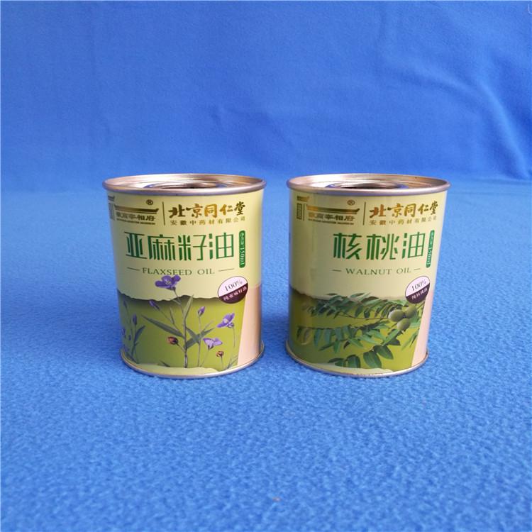 印花山茶油鐵罐 湛江魯花花生油鐵罐