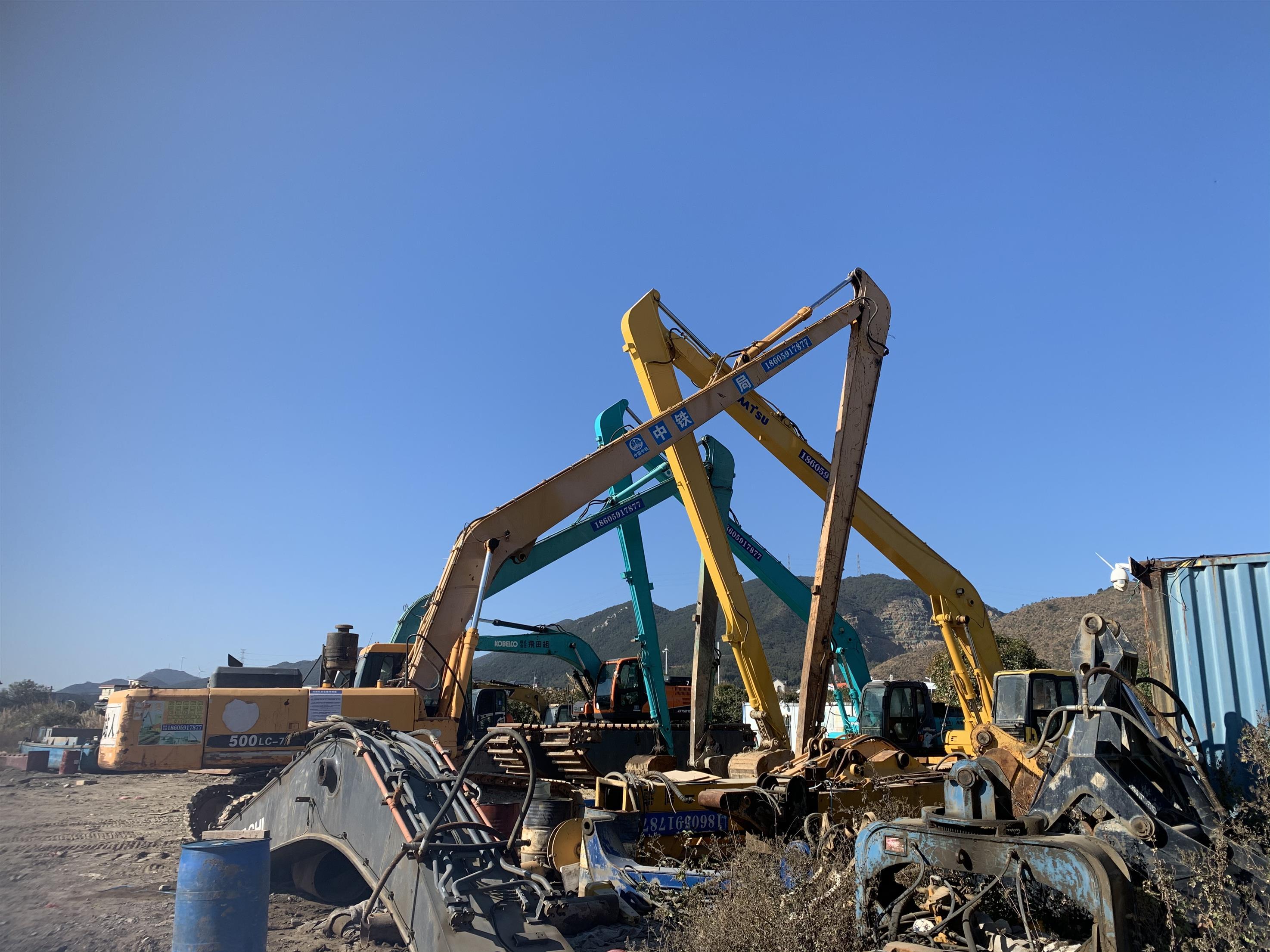 泉州30米伸缩臂挖掘机出租价格