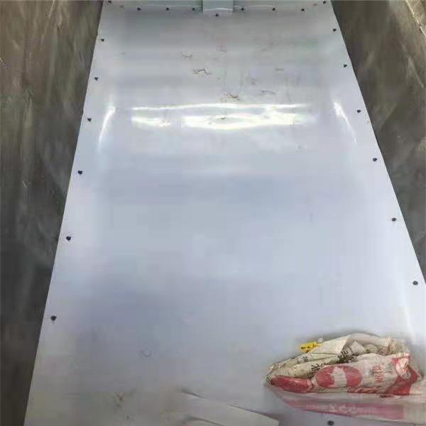 土不沾PE板 广州抗砸耐磨土不沾PE板生产设备