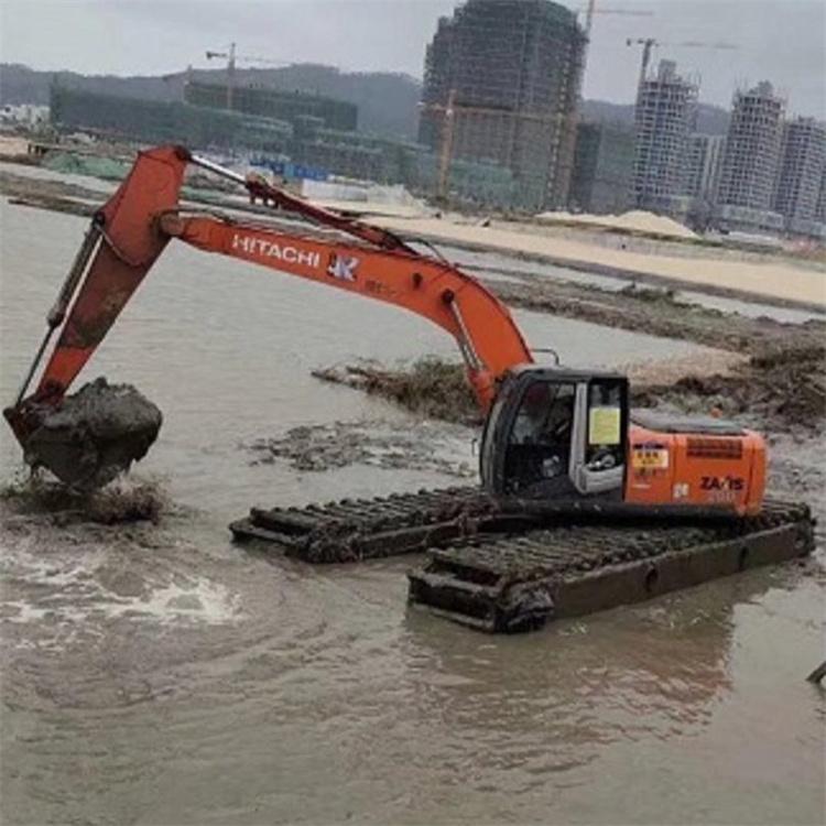 水陆挖机出租出租 梅州水陆挖机出租信息