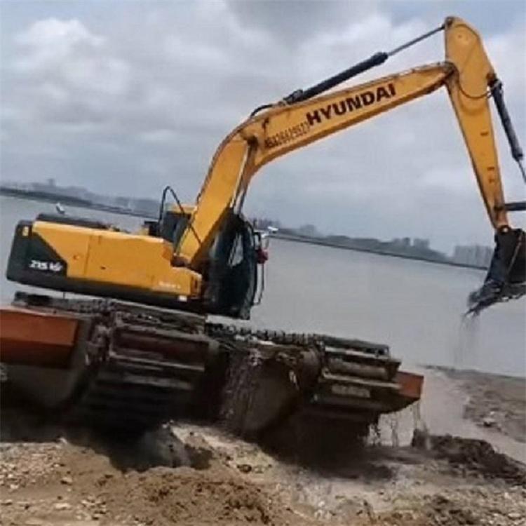 湿地挖掘机出租费用 梅州湿地挖掘机租赁厂家