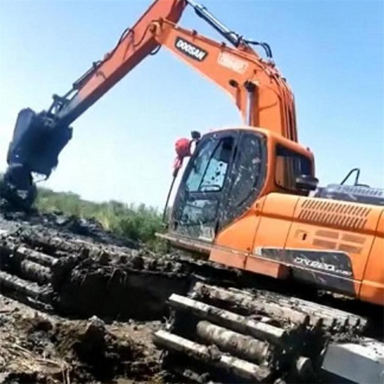 湿地挖掘机租赁 东莞湿地挖机租赁