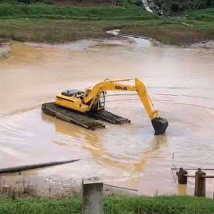 水陆挖机出租费用 珠海水陆挖机租赁费用