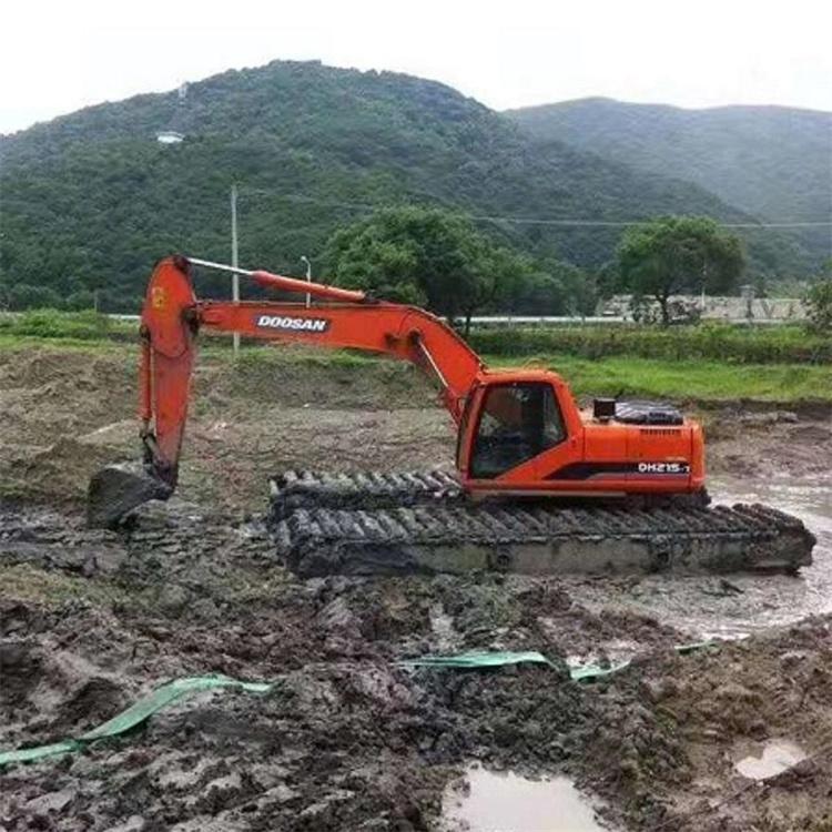 湿地挖掘机出租公司 广东湿地挖机租赁