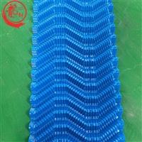 500*2000mmS波填料黑色PVC方形冷却塔填料河北龙轩