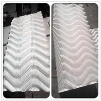 500*2000mmS波填料白色PVC电厂冷却塔填料 河北龙轩