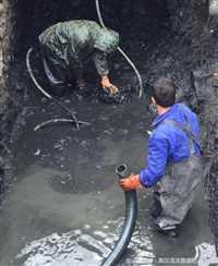 苏州市虎丘区附近污水池清理  工业管道疏通 清洗方案及报价