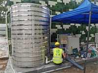 酒店宾馆用5p空气源热泵热水器三年质保